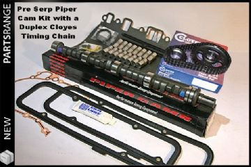 Piper Camshaft Kit &  Duplex Cloyes cam chain for pre-serp 3.5 & 3.9